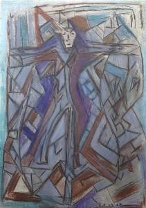 Die Kreuzigung, Plakatkarton 2007, 68 x 48 cm