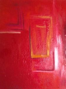 Labyrinth des Seins, Öl / Leinwand 2005, 120 x 100 cm
