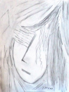 Stummer Schmerz, Bleistift 2007