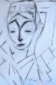 Einsamkeit, Bleistift 2007