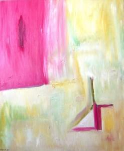 Die Abkehr des Judas, Öl / Leinwand 2007, 120 x 100 cm