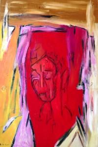 Die losgerissenen Jungfräulichkeiten, Öl / Leinwand 2010, 120 x 80 cm