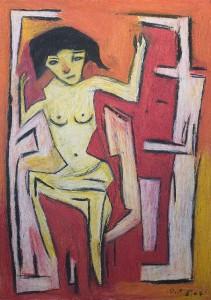Pubertät, Plakatkarton  2007, 95,6 x 67,9 cm