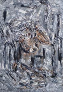 Die Dreifaltigkeit, Öl / Leinwand 2020, 100 x 70 cm