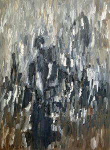 Die Unsterblichkeit, Öl / Leinwand 2019, 120 x 90 cm