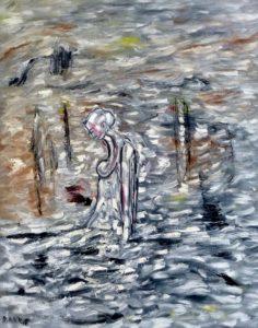 Nemesis, Öl / Leinwand 2018, 100 x 80 cm
