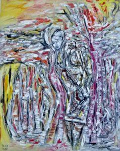 Die sanfte Hoffnung, Öl / Leinwand 2017, 100 x 80 cm